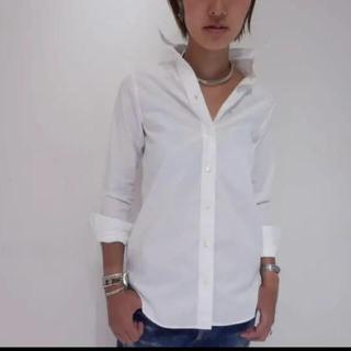 マディソンブルー(MADISONBLUE)のマディソンブルー  マダムシャツ 白 シャツ(シャツ/ブラウス(長袖/七分))
