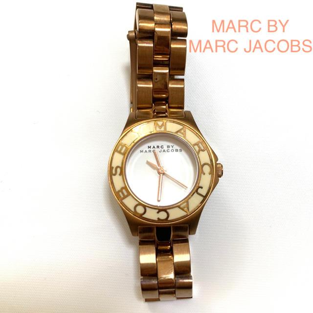 ロレックス スーパー コピー 時計 比較 / MARC BY MARC JACOBS - MARC BY MARC JACOBS 腕時計 ゴールド ホワイトの通販