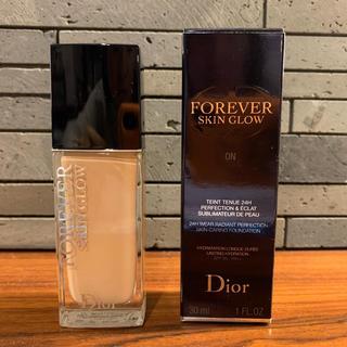 ディオール(Dior)のディオールスキン フォーエヴァーフルイドグロウ 0N(ファンデーション)