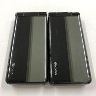 パナソニック(Panasonic)のdocomo P-01F 2台まとめ売り(スマートフォン本体)