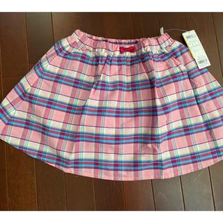 エニィファム(anyFAM)のanyFAM  KIDS  チェックスカート  新品タグ付 130 エニィファム(スカート)