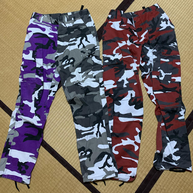 ROTHCO(ロスコ)のロスコパンツREDのみ メンズのパンツ(ワークパンツ/カーゴパンツ)の商品写真