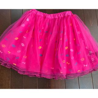 ベビードール(BABYDOLL)のBABYDOLL  キティちゃん チュールスカート パンツ付 130(スカート)