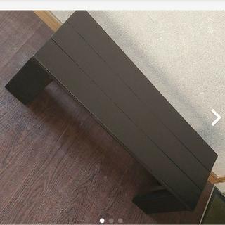 ガーデンベンチ 手作り♪ ブラック(その他)