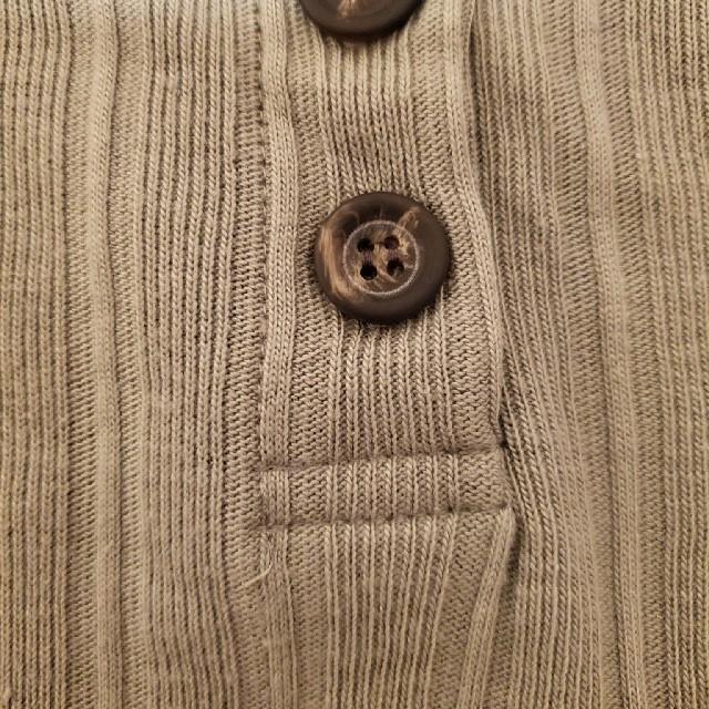 しまむら(シマムラ)の新品 プチプラのあや PAテレコヘンリーチュニック M レディースのトップス(カットソー(長袖/七分))の商品写真