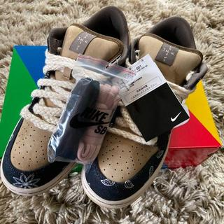 28.5  NIKE SB×TRAVIS SCOTT DUNK LOW PRM (スニーカー)