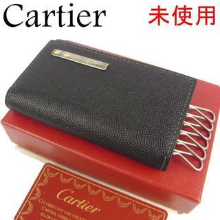 Cartier - カルティエ Cartier 未使用 メンズ サントス レザー 6連 キーケース