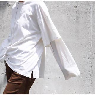 トゥデイフル(TODAYFUL)のaere♡レイヤードロンT(Tシャツ(長袖/七分))