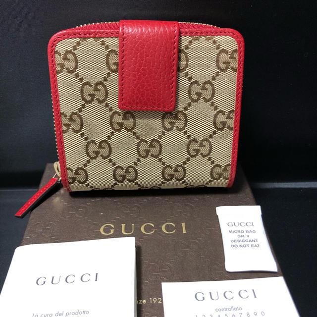 ブルガリルチア時計スーパーコピー,Gucci-GUCCIグッチGGキャンバス二つ折り財布 新品未使用♪の通販