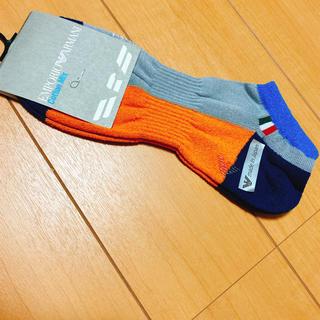 エンポリオアルマーニ(Emporio Armani)の新品未使用 ✴︎EMPORIO ARMANI✴︎アルマーニ 紳士靴下(ソックス)