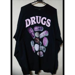 ミルクボーイ(MILKBOY)のmilkboy PILLS L.S. Tシャツ ロンT drugs(Tシャツ/カットソー(七分/長袖))