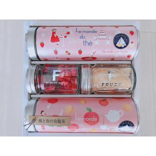 伊藤園 - 苺とバニラの紅茶、ラズベリーミックス、フリーズドライ国産桃、桃と杏の烏龍茶 4点