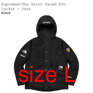 Supreme - L Supreme the North Face RTG Jacket Vest