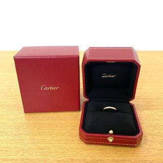 カルティエ(Cartier)の美品 カルティエ バンドリング K18PG ダイヤリング 指輪 ☆ティファニー(リング(指輪))