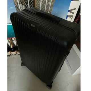 リモワ(RIMOWA)のRIMOWA リモワ スーツケース ブラック  4輪 (トラベルバッグ/スーツケース)