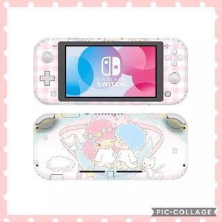 ニンテンドースイッチ(Nintendo Switch)の★ スイッチ スキンシール Switch キキララ  あつまれどうぶつの森 ♪(携帯用ゲームソフト)