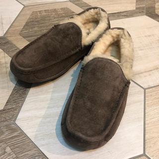 UGG - UGG アグ モカシン アスコット チェスナット メンズ 25cm 靴