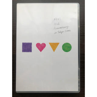 NEWS - NEWS 10th Anniversary in Tokyo Dome【DVD】