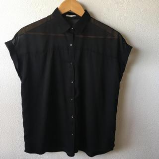 ジーユー(GU)のGU シースルー ブラウス(シャツ/ブラウス(半袖/袖なし))