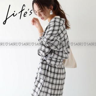TODAYFUL - TODAYFUL【未使用に近い】Check Rough Gown★ungrid