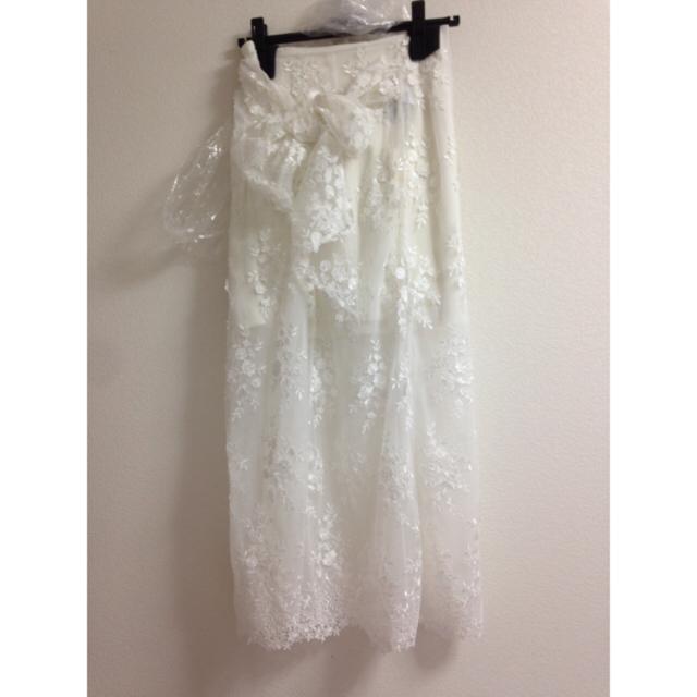 snidel(スナイデル)のSnidel レースロングスカート レディースのスカート(ロングスカート)の商品写真