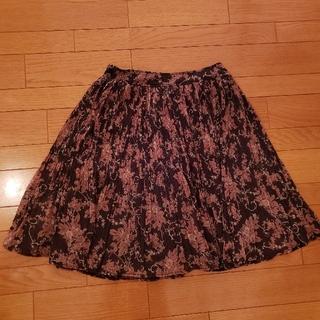 ビバユー(VIVAYOU)のVIVAYOU花柄スカート(ひざ丈スカート)