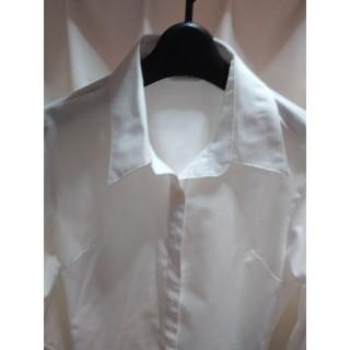 パーソンズ(PERSON'S)の白シャツ(シャツ/ブラウス(長袖/七分))