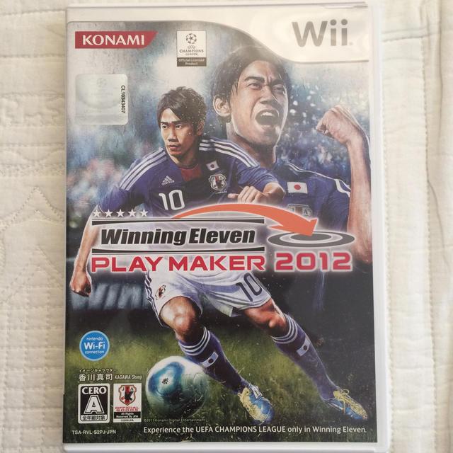 ウイニングイレブン プレーメーカー 2012 Wii エンタメ/ホビーのゲームソフト/ゲーム機本体(家庭用ゲームソフト)の商品写真