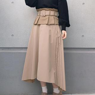 ナイスクラップ(NICE CLAUP)のコルセット スカート(ロングスカート)