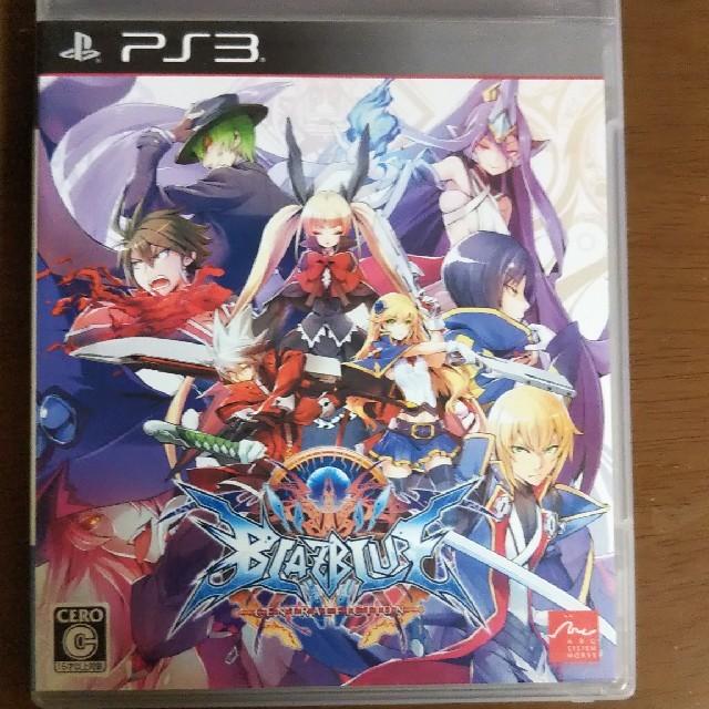 ブレイブルー セントラルフィクション PS3 エンタメ/ホビーのゲームソフト/ゲーム機本体(家庭用ゲームソフト)の商品写真