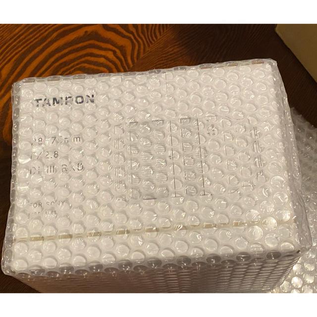 TAMRON(タムロン)の新品未開封 タムロンF/2.8 Di III RXD SONYフルサイズ用 スマホ/家電/カメラのカメラ(レンズ(ズーム))の商品写真
