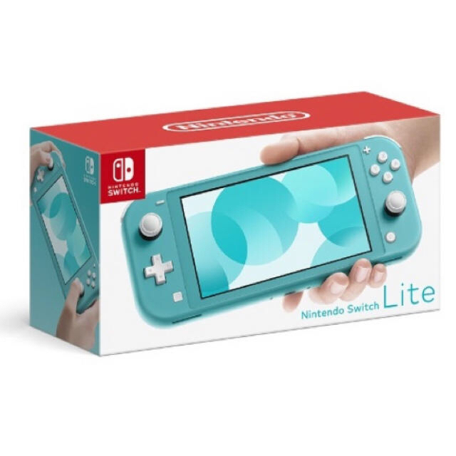 Nintendo Switch(ニンテンドースイッチ)のニンテンドースイッチ 任天堂 Switch Lite ターコイズ エンタメ/ホビーのゲームソフト/ゲーム機本体(携帯用ゲーム機本体)の商品写真