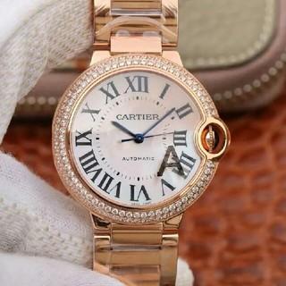 カルティエ(Cartier)のカルティエバロンブルー33mmWE902064(腕時計(アナログ))