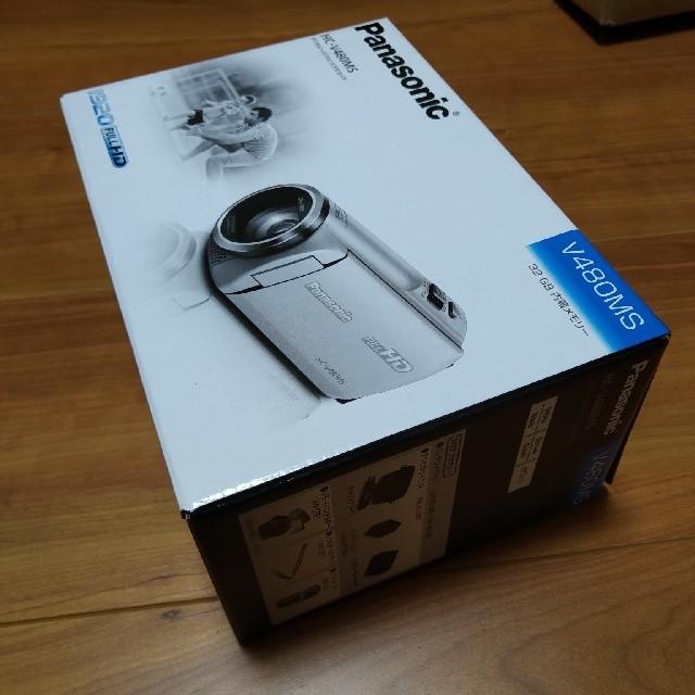 Panasonic(パナソニック)のパナソニック HDビデオカメラ V480MS-W スマホ/家電/カメラのカメラ(ビデオカメラ)の商品写真