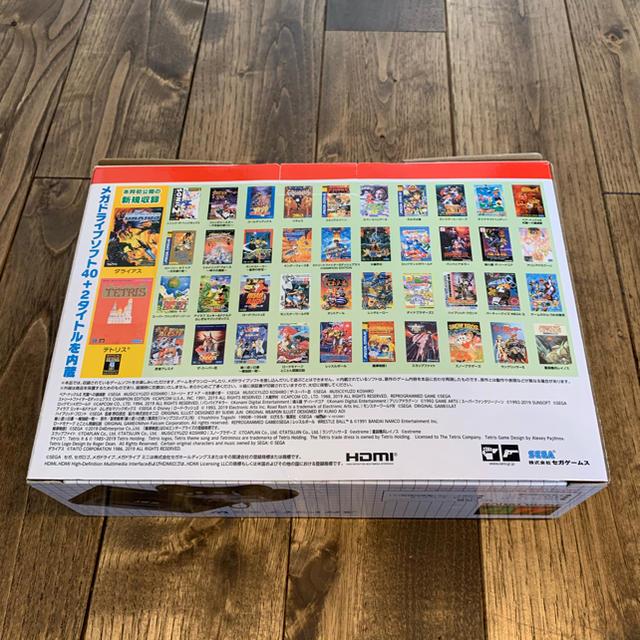 SEGA(セガ)のSEGA メガドライブ ミニ W エンタメ/ホビーのゲームソフト/ゲーム機本体(家庭用ゲーム機本体)の商品写真