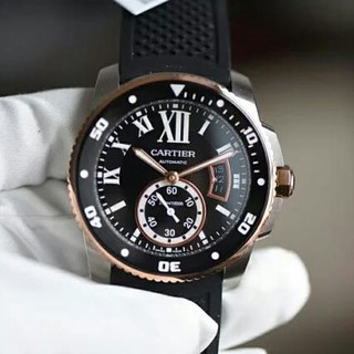 カルティエ(Cartier)の新品~Cartier42 mm直径ブルーサファイア/カモメが独立した小秒自動機械(腕時計(アナログ))