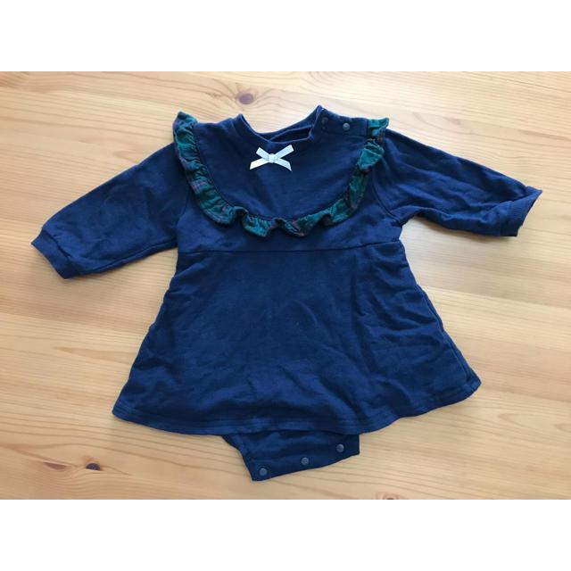 しまむら(シマムラ)のバースデイ ロンパース キッズ/ベビー/マタニティのベビー服(~85cm)(ロンパース)の商品写真