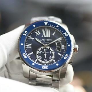 カルティエ(Cartier)の カルティエ CARTIER カリブル ドゥ カルティエ ダイバー(腕時計(アナログ))