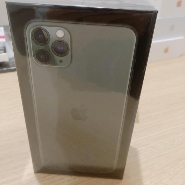 iPhone(アイフォーン)の[新品.未開封] iphone11 pro max 256GB SIMフリー スマホ/家電/カメラのスマートフォン/携帯電話(スマートフォン本体)の商品写真