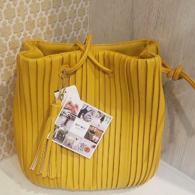 しまむら(シマムラ)の新品未使用  しまむら  mumu  プリーツバック レディースのバッグ(ショルダーバッグ)の商品写真