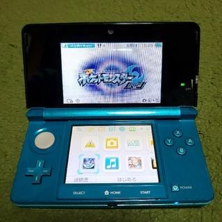 ニンテンドー3DS(ニンテンドー3DS)のニンテンドー 任天堂 Nintendo / 3DS / アクアブルー(携帯用ゲーム機本体)