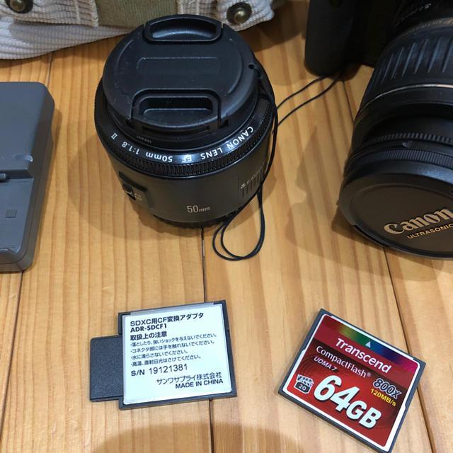 Canon(キヤノン)の【送料無料】激安 Canon EOS Kiss X キャノン イオスキス スマホ/家電/カメラのカメラ(デジタル一眼)の商品写真