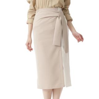 ROYAL PARTY - バイカラーウエストマークタイトスカート
