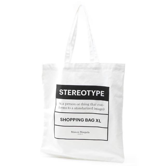 Maison Martin Margiela(マルタンマルジェラ)の【新品】マルタンマルジェラ トートバッグ ステレオタイプ STEREOTYPE メンズのバッグ(トートバッグ)の商品写真
