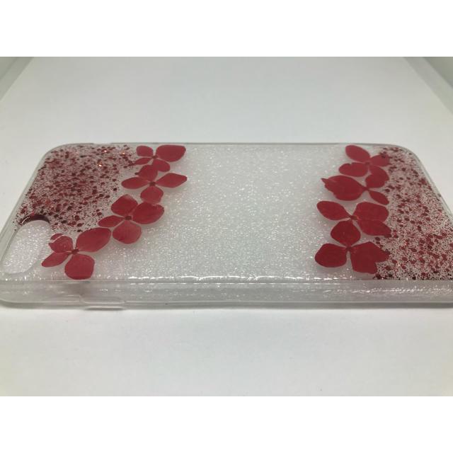【iPhone7/iPhone8用ケース】 押し花デザインケースH スマホ/家電/カメラのスマホアクセサリー(iPhoneケース)の商品写真