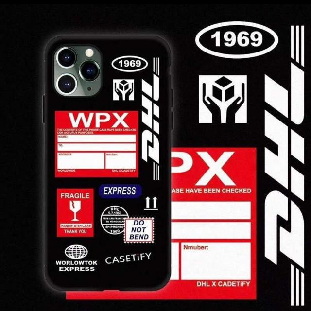 iphoneX iphoneXR用スマホケース ブラック DHL アイフォン スマホ/家電/カメラのスマホアクセサリー(iPhoneケース)の商品写真