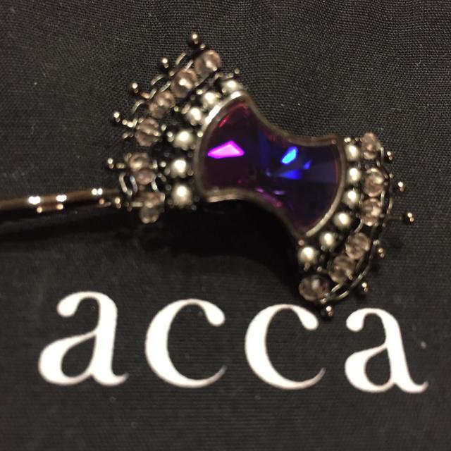 acca(アッカ)のacca アッカ☆ヘアピン☆人気限定品☆キューバンカーニバル☆値下げしました! レディースのヘアアクセサリー(ヘアピン)の商品写真