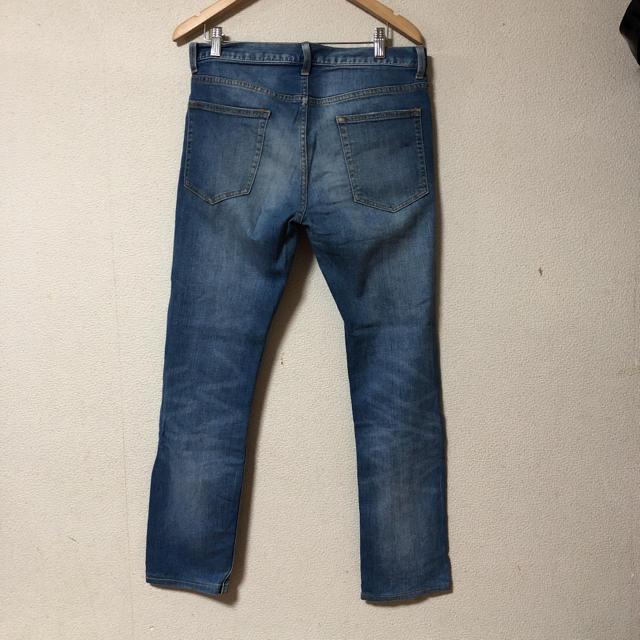 GU(ジーユー)のGU メンズ ジーンズ デニムパンツ ストレッチデニム メンズのパンツ(デニム/ジーンズ)の商品写真