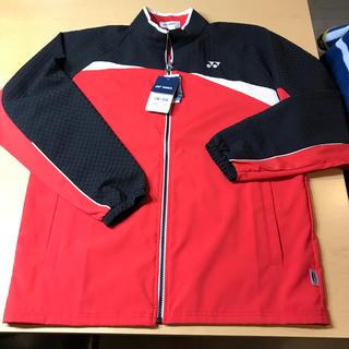 ヨネックス(YONEX)のヨネックス UNI ウォームアップシャツ S 新品未使用(ナイロンジャケット)