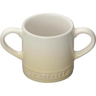 ルクルーゼ(LE CREUSET)の☆新品☆ ル・クルーゼ ベビー マグカップ(デューン) 120ml(マグカップ)